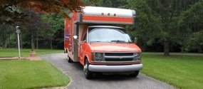 Mold Cleanup and Water Damage Restoration Truck